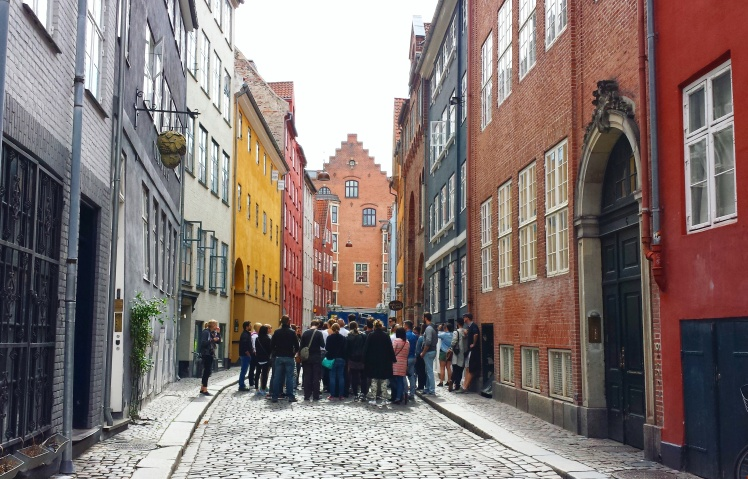 Copenhagen Alley with Buildings