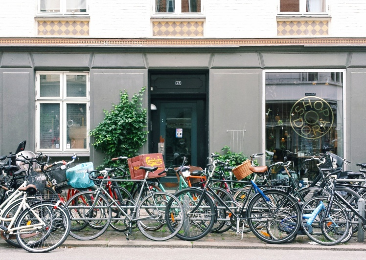 Copenhagen Bikes Vesterbro