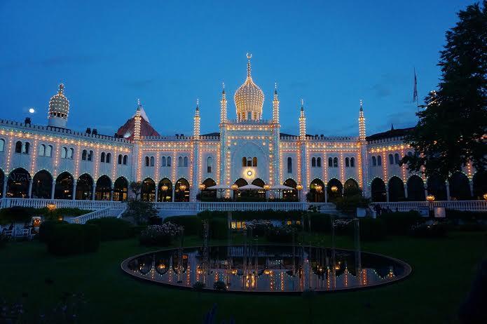 Copenhagen Tivoli Building