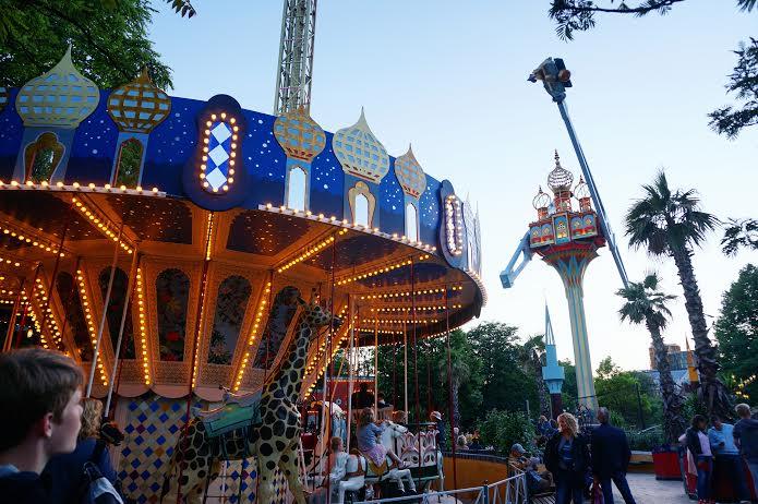 Copenhagen Tivoli Rides